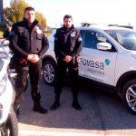 FOVASA presenta su dispositivo de seguridad y limpieza para el Gran Premio de Motociclismo de la Comunidad Valenciana
