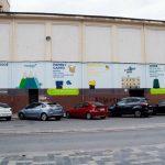 FOVASA inaugura un mural de 16 metros para incentivar el reciclaje en Moncada