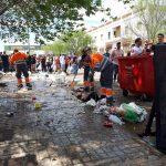 FOVASA Medio Ambiente realiza con éxito el servicio de limpieza durante las Paellas Universitarias de Valencia