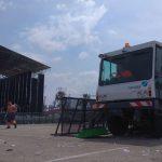 FOVASA Medio Ambiente asumirá la limpieza de los conciertos que se realizarán este verano en la Marina Real de Valencia