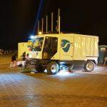 Cerca de 150 operarios de FOVASA y una treintena de vehículos velan por la limpieza de las playas de la Malvarrosa y el Cabanyal por San Juan