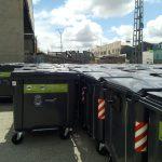 El Ayuntamiento de Requena y FOVASA instalan 500 nuevos contenedores