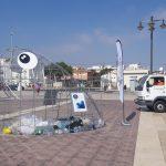FOVASA hace posible la puesta en marcha de una original iniciativa de reciclaje en la playa de la Malvarrosa de València